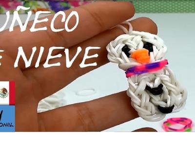 MUÑECO DE NIEVE DE GOMITAS - TUTORIAL EN ESPAÑOL - DIY