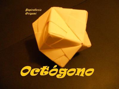 Origami - Papiroflexia. Tutorial: Octógono