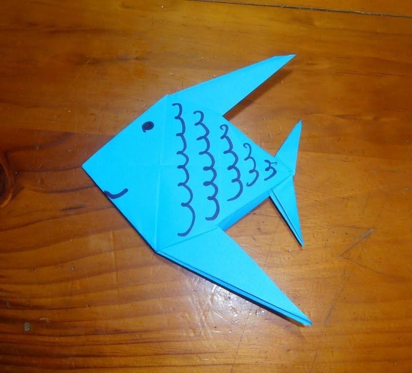 #Origami - Pez
