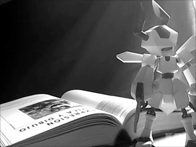 Papercraft Rokusho Stop Motion