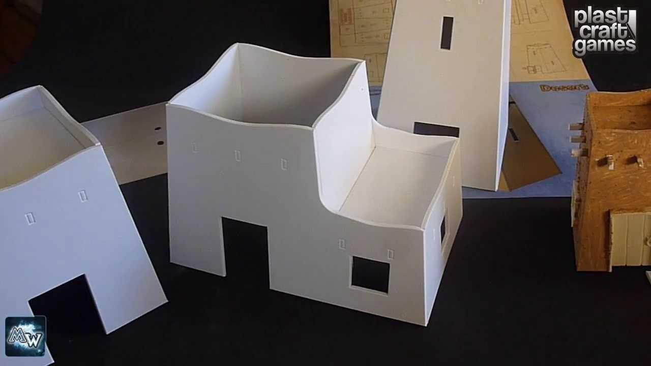 [Plast Craft Games] Edificios para el desierto (28mm)