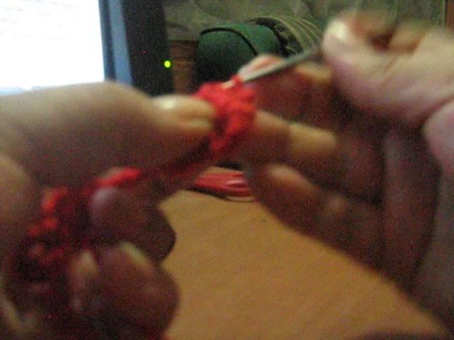 Primera parte tutorial motivo de flores a crochet