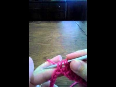 Primeros pasos de crochet clase n  1