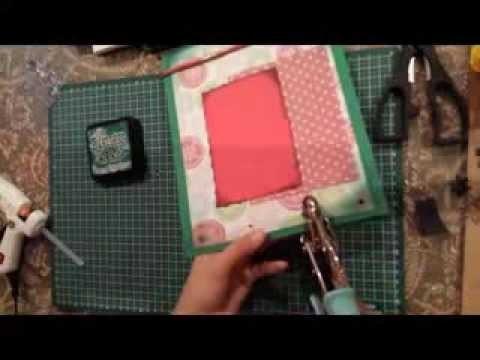 Proyecto Scrapbook, tarjeta de navidad