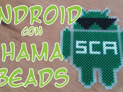 Robot de Android con Hama Beads