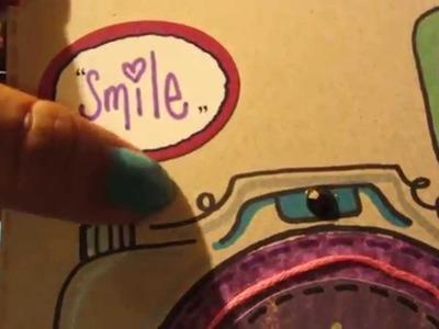 SCRAPBOOK: reto tarjeta de cámara