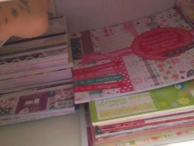 SCRAPBOOKING ESPAÑOL organizacion papeles