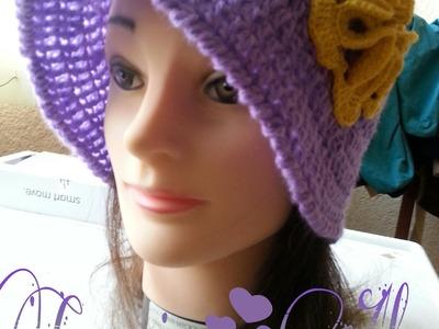 Sombrero Isabel a Crochet    2da  parte