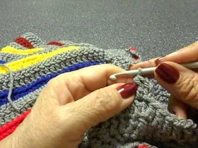 Sweter para niña Crochet parte 4 de 4
