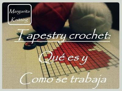 Tapestry crochet: qué es y cómo se hace (diestro)