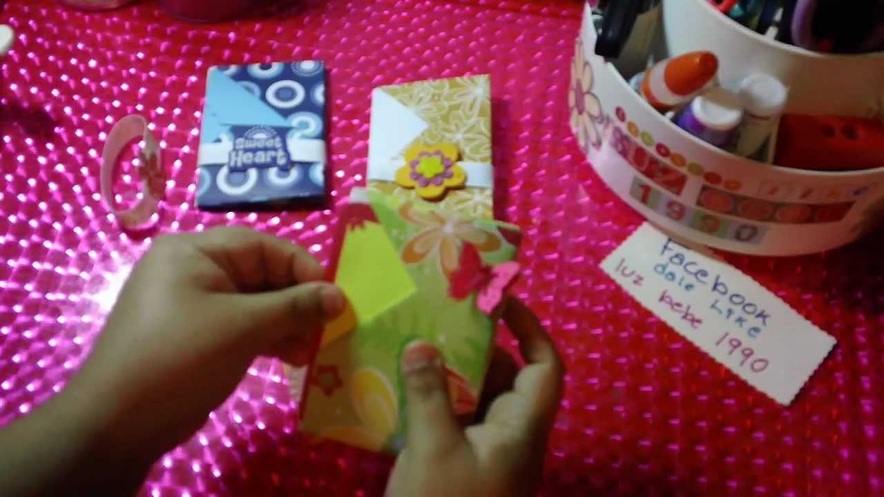 TARJETA MINIALBUM SCRAPBOOK(origami) ORIGINAL
