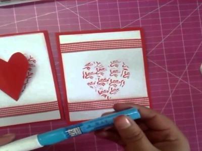 Tarjeta para mi novia DIY