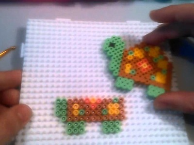 Tortuga con Hama Beads  HD By Rainbowman