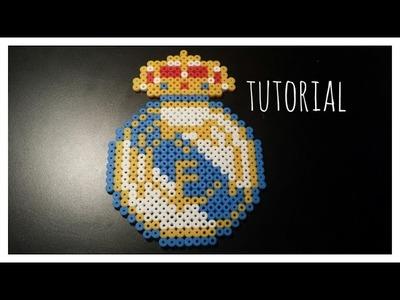 ☆ TUTORIAL: Escudo Real Madrid con Hama Beads + Saludos ☆