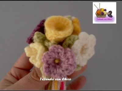 Tutorial flor crochet (mod-1)