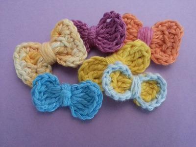 Tutorial Lazo Basico 1 Crochet