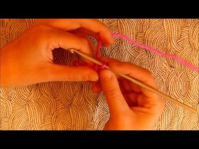 Tutorial para empezar labores circulares crochet
