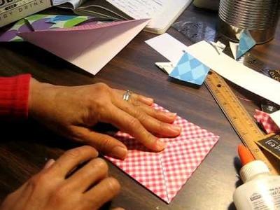 Tutorial Sobre de papel hecho en casa