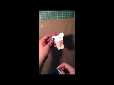 TUTORIAL tarjeta en forma de taza de cafe (ESPAñOL)