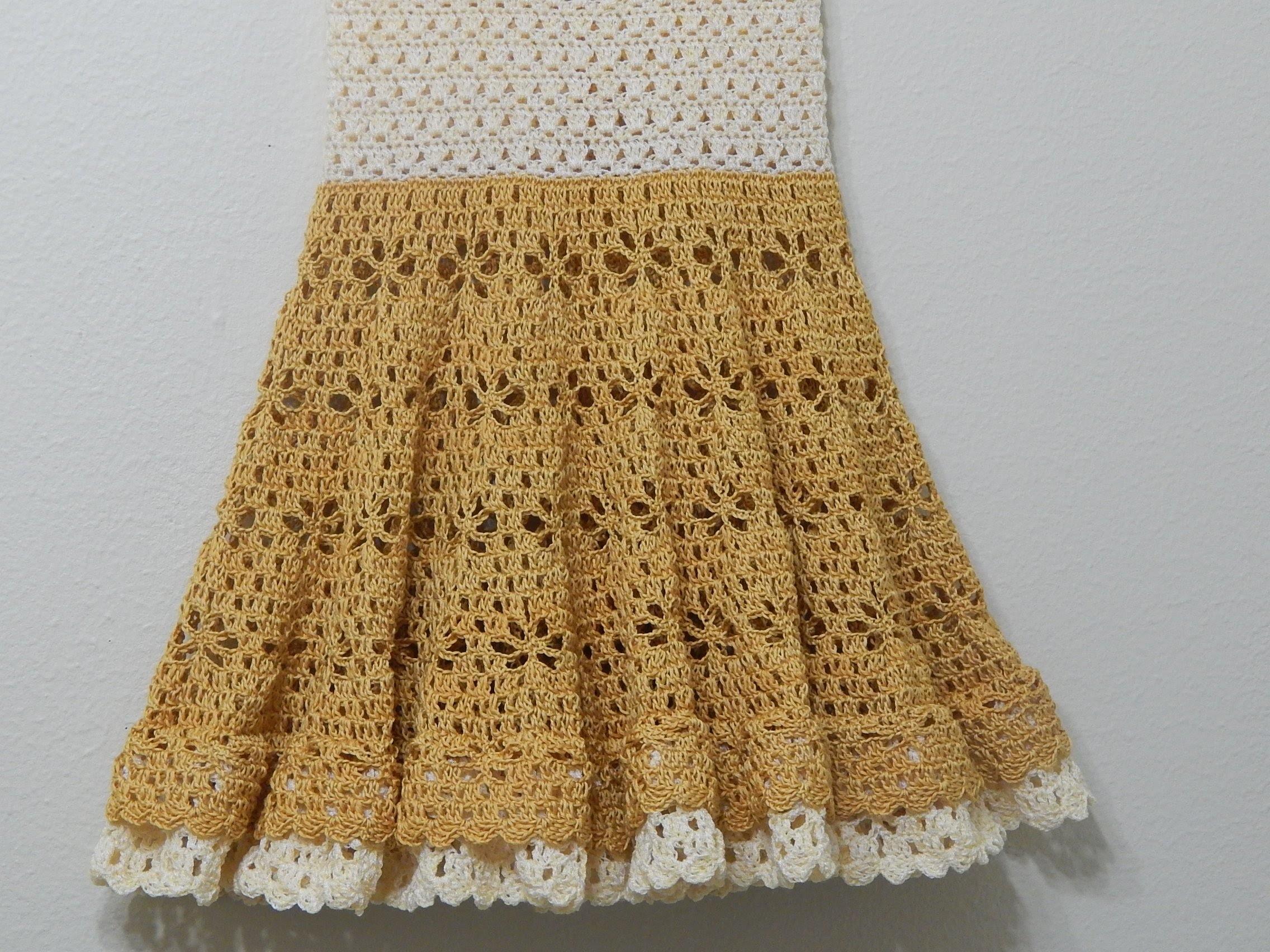 Vestido Circular Crochet parte 2 de 3
