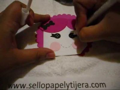 1ro en la serie de scrapbook con sobres, Bolsillo Lalaloopsy