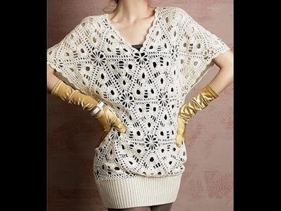 2 Modelos Fácil de Tejer a crochet