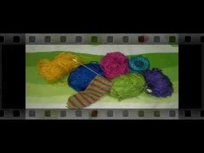 Aretes tejidos a ganchillo o crochet