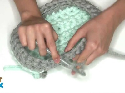 ArtBox Crochet XXL by Alpino, rectangular basket