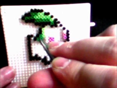 Chikorita Pokemon Hama Beads mini