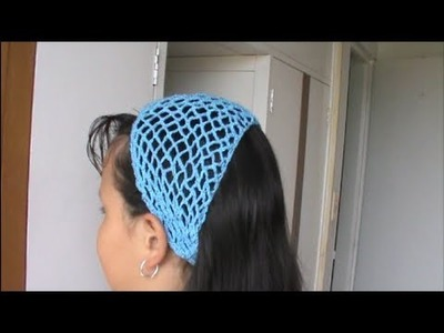 Cintillo Para el Cabello En Crochet