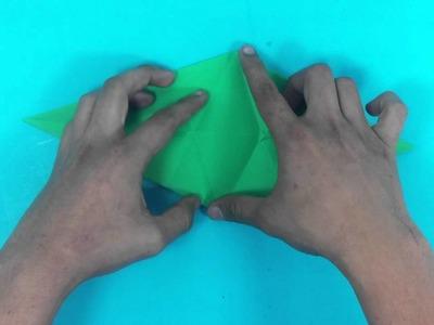 Cocodrilo de origami - Entretenimiento para niños