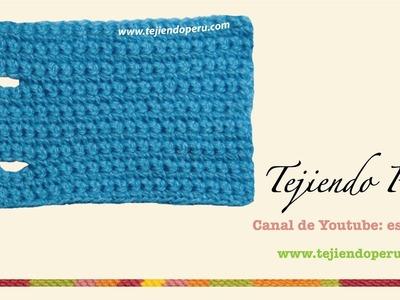 Cómo hacer ojales en el tejido a crochet