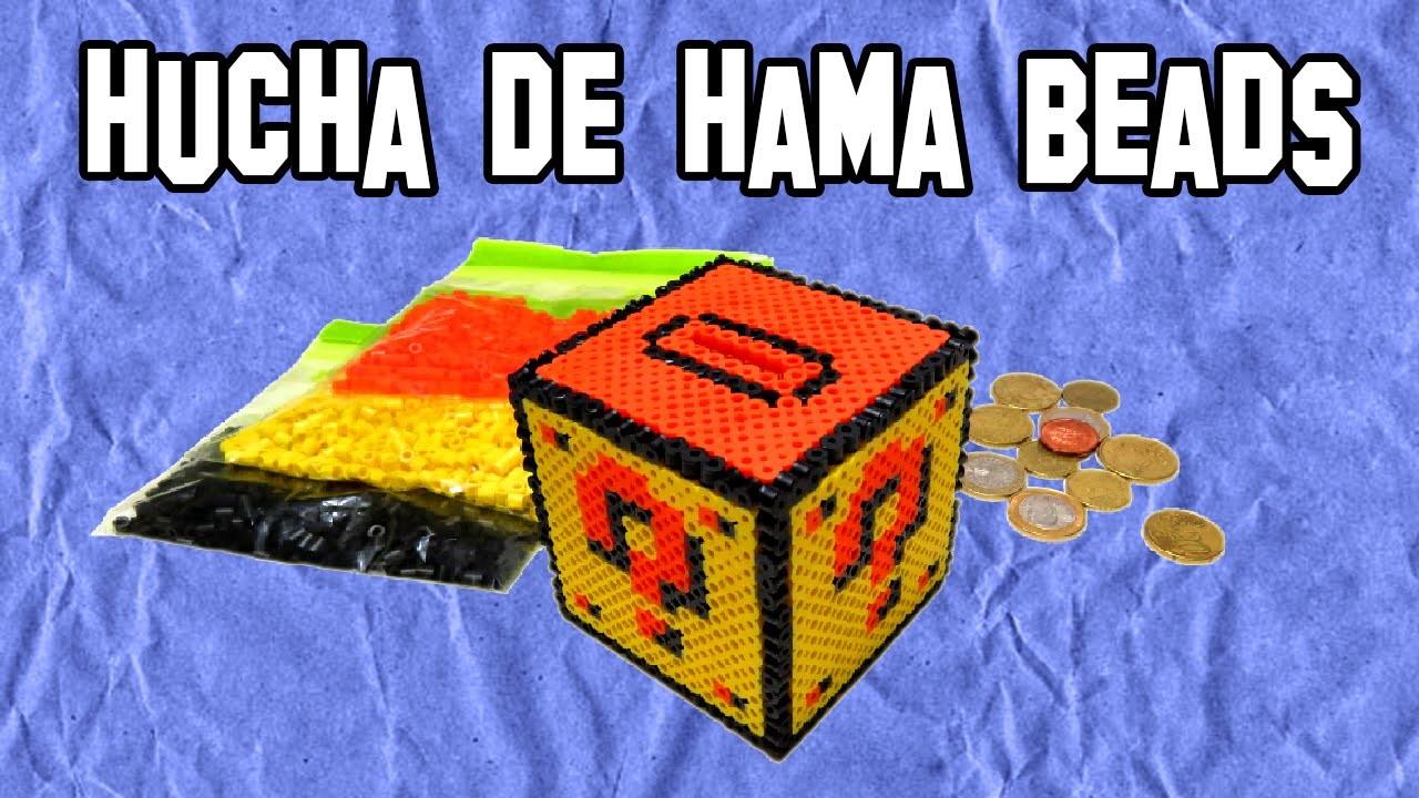 Como hacer una hucha de hama beads mario bros diy - Como hacer una hucha ...