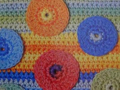Como tejer cojin.almohadón a crochet