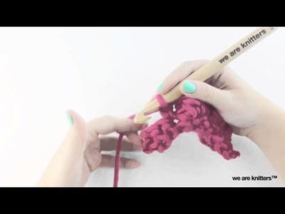 Cómo tejer punto burbuja con crochet - Aprender crochet