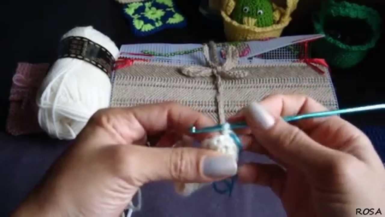 Crochet, como hacer una funda para tu celular (HD) 1.2