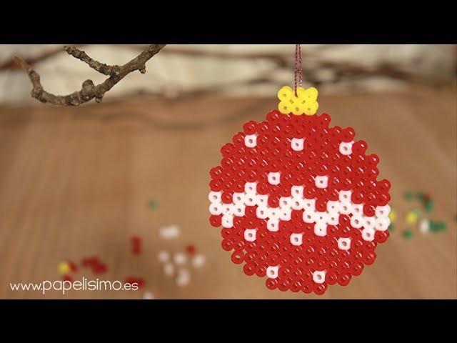 Diseños hama beads de Navidad 2014