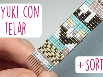 DIY BRAZALETE MIYUKI CON TELAR + SORTEO (CERRADO) ♥ Qué cositas