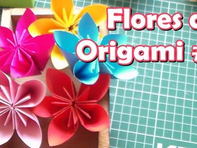 Flores de Origami # 1