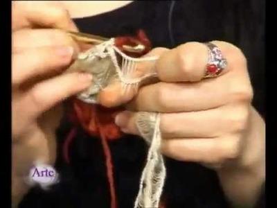 Hilados LHO en ARTEZ TV. Chaleco circular al crochet