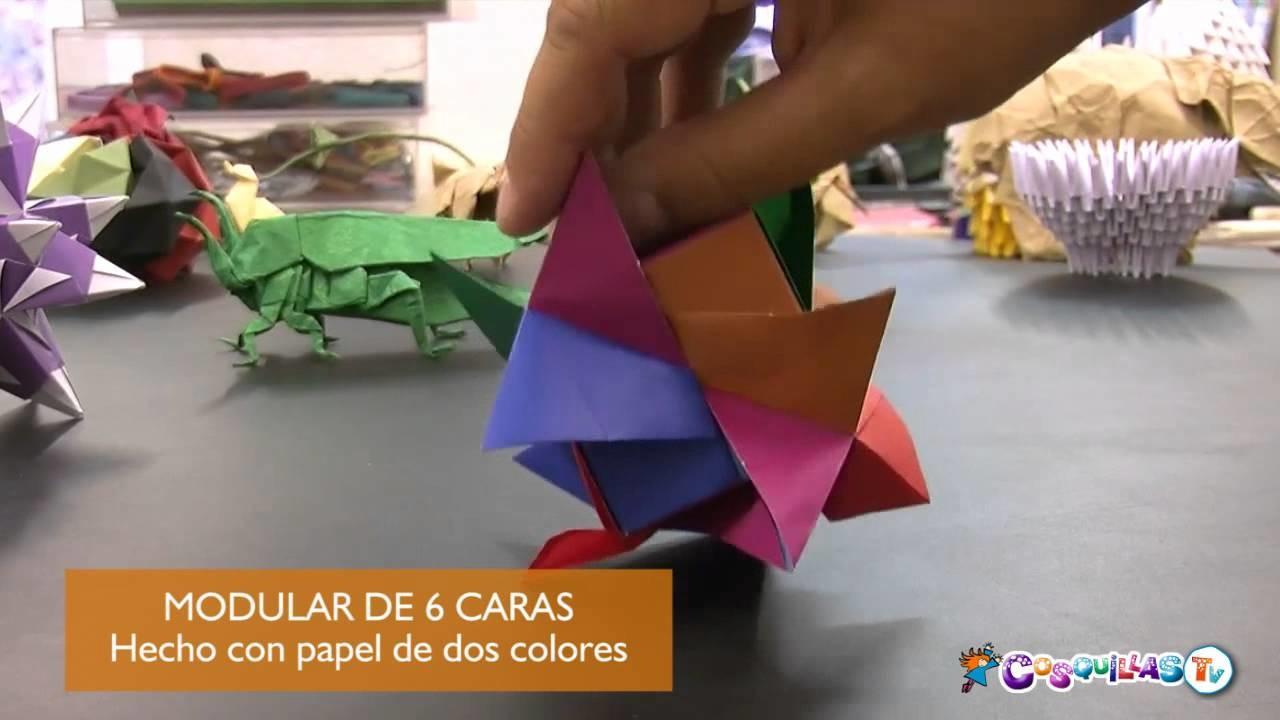 Origami. Papiroflexia. Figuras ensambladas y modulares