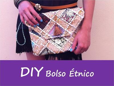 Patrones DIY: TUTORIAL BOLSO ETNICO (bolso fiesta)