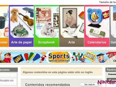 Presentacion de Creative Park (TIPS SCRAPBOOK)