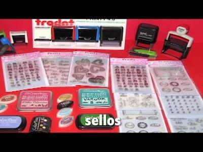 Scrapbooking, Materiales y Herramientas para Scrapbook, Sellos de Oficina y Manualidades