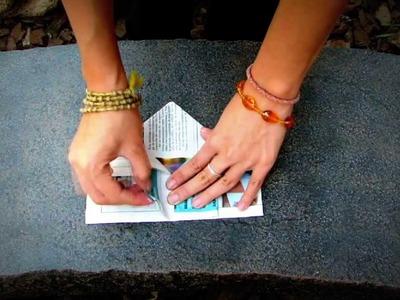 Tip de un minuto: semilleros de origami