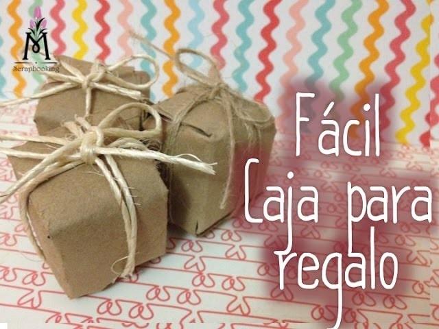 TUTORIAL Cajita para regalo.Present Box