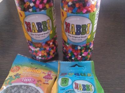 Tutorial de Hama Beads y Nabbi (Tipos y organización)