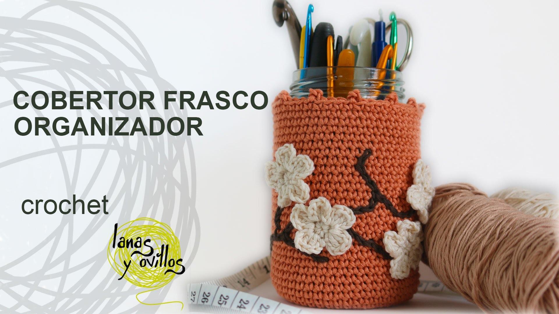 Tutorial Organizador Bote Crochet o Ganchillo
