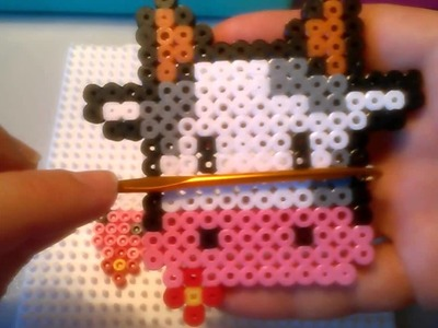 Vaquita de Hama Beads  HD By Rainbowman