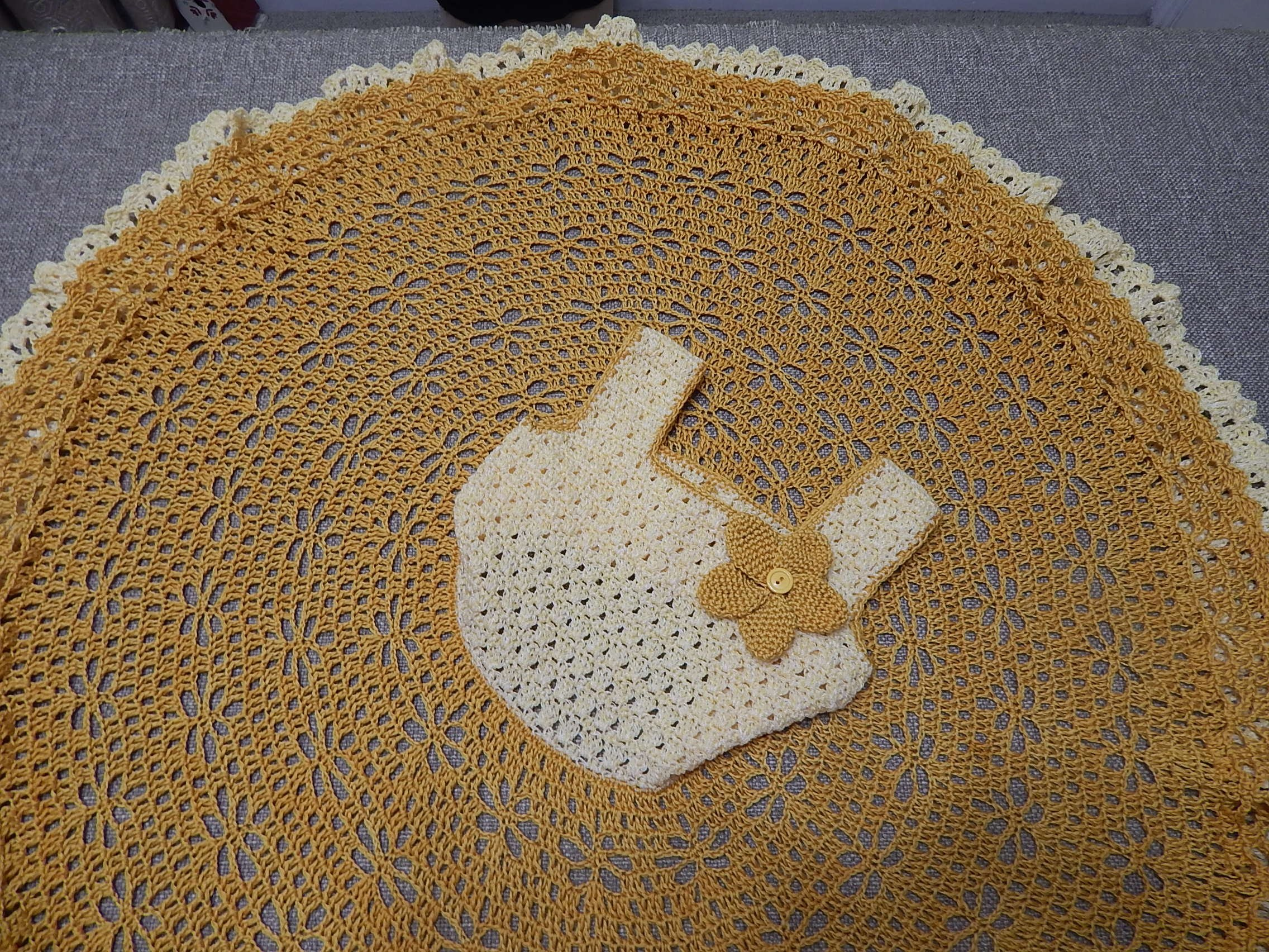 Vestido Circular Crochet parte 3 de 3